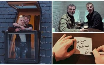 WATCH: Tommy Tiernan, Hector and Saoirse Ronan star in official video for Ed Sheeran's 'Galway Girl'