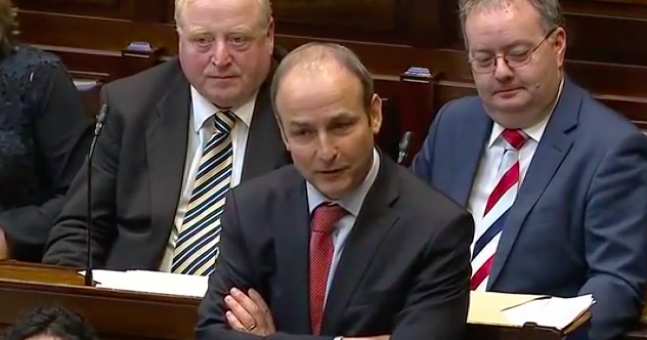 Fianna Fáil leader Micheál Martin refuses to endorse abortion in cases of incest