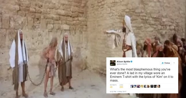 Irish people sharing tales of the most blasphemous things they've ever done is just brilliant