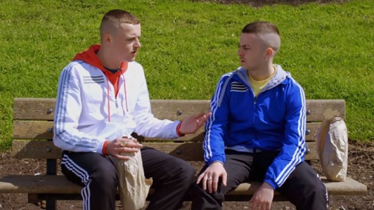 Great news, The Young Offenders TV series has started filming and