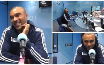 WATCH: Munster and Ireland rugby star Simon Zebo raps the intro to 'Rapper's Delight' live on radio