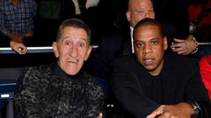 The bitterly disappointing truth behind that photo of Jay Z and Barry Chuckle