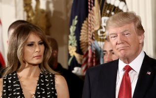 President Trump wishes his wife well after hospital visit but manages to spell her name wrong