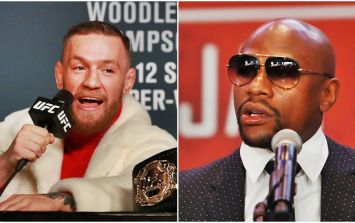 Conor McGregor signs 'historic contract' to fight Floyd Mayweather