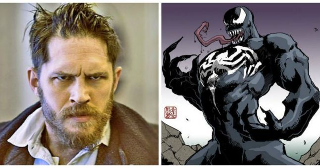 Tom Hardy to star as Venom in new Spiderman villain spin-off movie