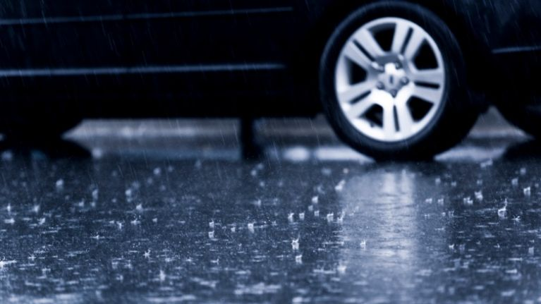 Road Safety Authority issue warning to road users ahead of forecasted heavy rain
