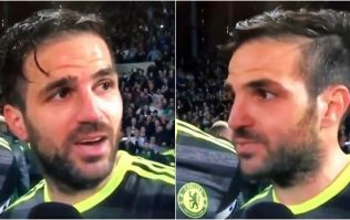 WATCH: Cesc Fabregas drops the F-Bomb live on Sky Sports after league win