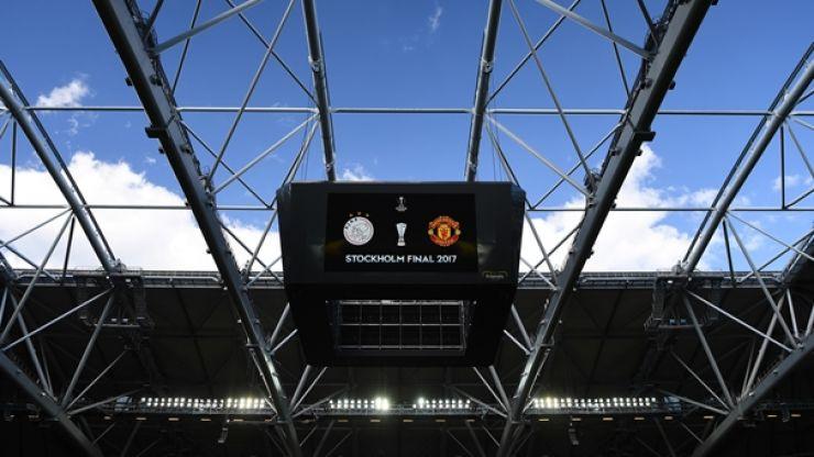 Jose Mourinho has named his team for tonight's Europa League final