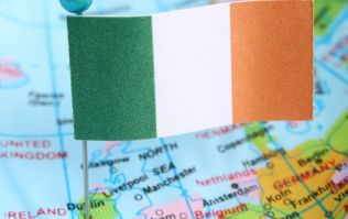 PIC: An English town's bizarre map of Ireland is head-scratching stuff