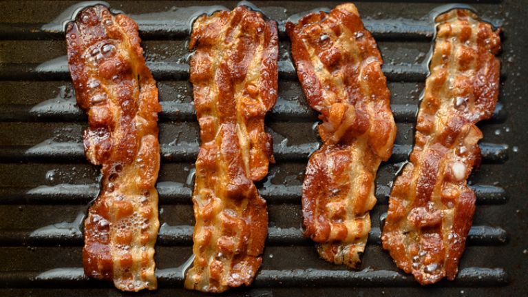 Bacon products issued recall due to being packaged in unapproved facility