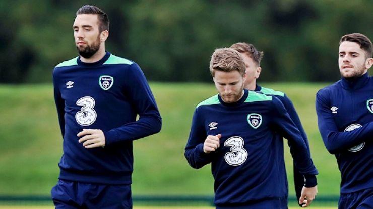 Shane Duffy and Eunan O'Kane involved in car crash on way to Ireland training