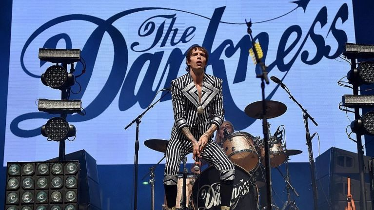 The Darkness are coming to Ireland for three concerts later