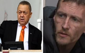 West Ham's co-owner finds the homeless hero in Manchester to reward his wonderful act