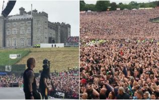 "Wife of Guns N' Roses star pays brilliant tribute to the ""most insane crowd ever"" following Slane concert"