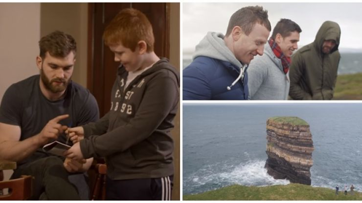 WATCH: Aidan O'Shea, Colm Boyle and Lee Keegan star in a stunning promo for the Wild Atlantic Way in Mayo
