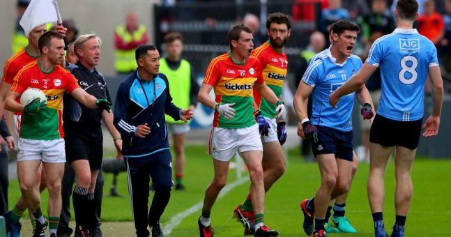 Diarmuid Connolly hit with 12-week ban for Carlow incident