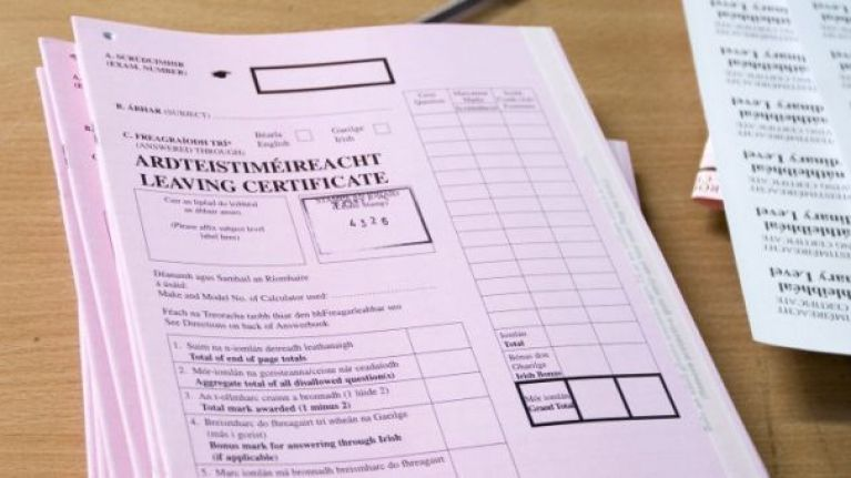 EU ruling means that Irish students can get copies of their Leaving Cert scripts