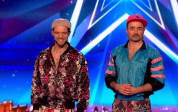 WATCH: Britain's Got Talent favourites Lords Of Strut teach two lads the art of throwing shapes