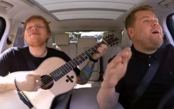 WATCH: The first look at Ed Sheeran's much anticipated Carpool Karaoke performance