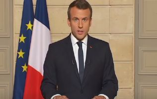 "WATCH: French President embarrasses teenager for not referring to him as ""Sir"""