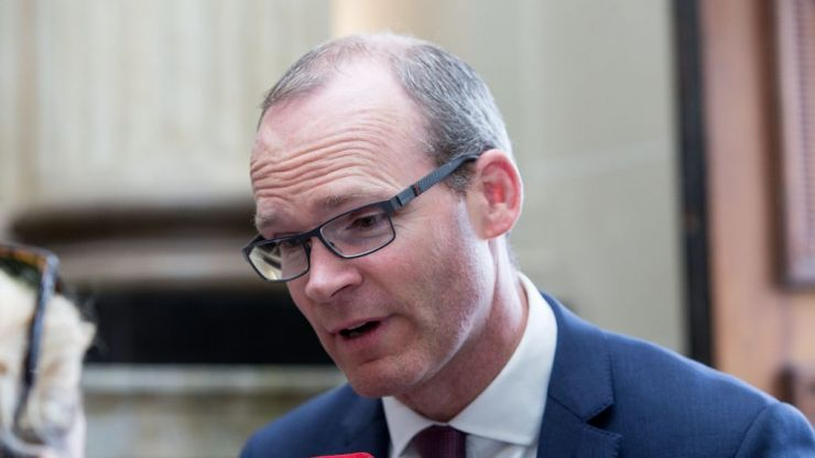 """Tánaiste Simon Coveney to skip Trump visit to travel to Belfast, where there is """"real work to do"""""""