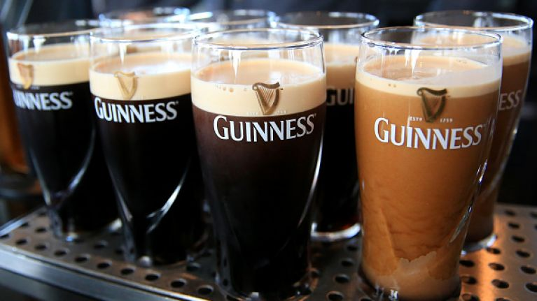 Mary's Bar is giving away free pints of Guinness on Wednesday