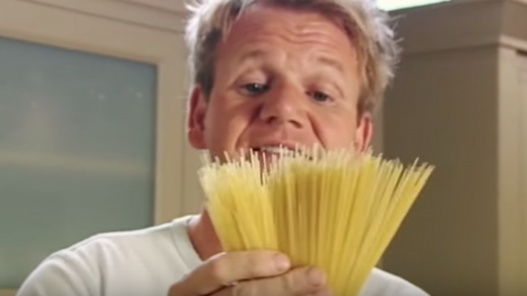 Gordon Ramsay reveals the simple trick to cooking perfect, delicious pasta