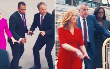 WATCH: Newscasters from Channel 4, ITV and Sky reenact Anchorman fight scene and it's glorious