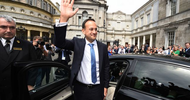 VIDEO: Leo Varadkar references Love Actually during his Downing Street press conference