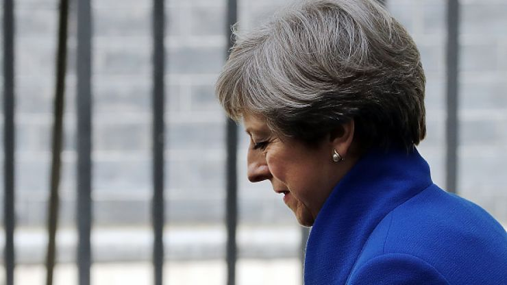 "Theresa May ""burst into tears"" when she saw the election results"