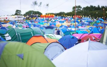 We're pretty sure we just found the best tent at this year's Electric Picnic
