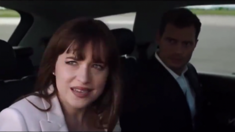 Watch The First Trailer For The Third Fifty Shades Of Grey Film Is