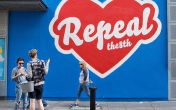 Maser's Repeal mural is being removed from the Project Arts Centre again