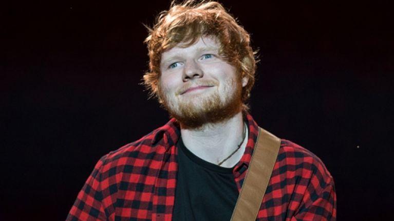 Ed Sheeran's list of backstage demands at Glastonbury is very ordinary
