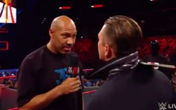 WWE insist that racial slur during Monday Night Raw was 'not in the script'