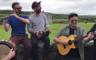 WATCH: An Irish band playing the Father Ted theme tune outside Father Ted's house will bring a smile to your face