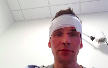 This Facebook post describes a vicious attack by group of Dublin teens