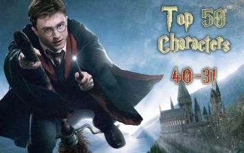 The 50 Greatest Harry Potter characters - #40-31