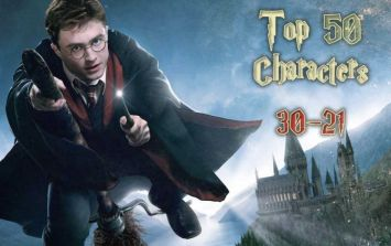 The 50 Greatest Harry Potter Characters - #30-21
