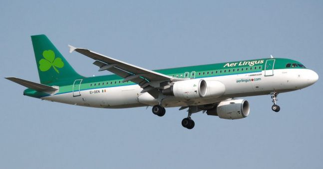 Aer Lingus ranked in the top 10 most punctual airlines in the world