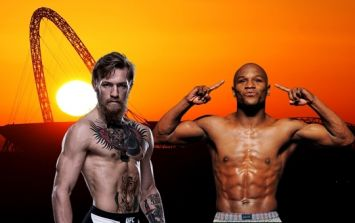 Reports that Conor McGregor and Floyd Mayweather will face off in London in two weeks