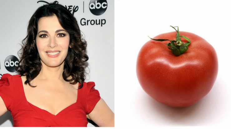 Nigella Lawson somehow managed to annoy people with a recipe for tomato salad