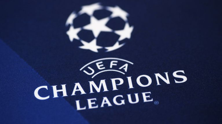 The Champions League draw has been made and it is very tasty