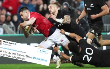 Conor Murray's god-like status is the talk of every sports reporter today