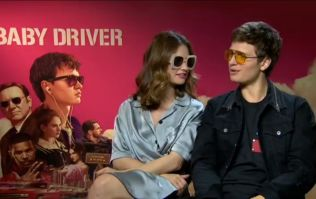 Ansel Elgort and Lily James talk about being lovers-on-the-run in Baby Driver