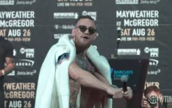 """Conor McGregor: """"I'm half black… from the belly button down"""""""