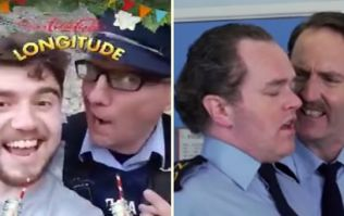 WATCH: A Garda at Longitude brilliantly recreated one of the funniest ever Irish comedy sketches