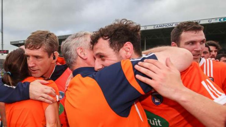 What the Armagh team did to Tipperary after their game was extremely classy