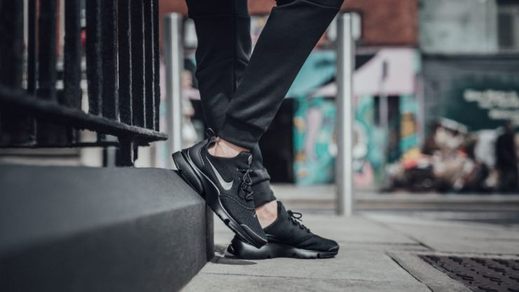WIN: Here are the hottest triple black trainers of 2017 and you could win a pair from The Black List
