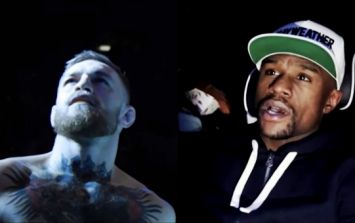 Conor McGregor makes fun of Floyd Mayweather's sudden growth spurt